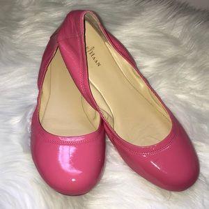 Cole Haan Manhattan Ballet Flats Pink Patent 8.5